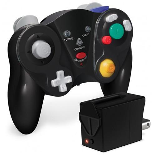 HYPERKIN CirKa FreePad Wireless Controller for GameCube (Black)