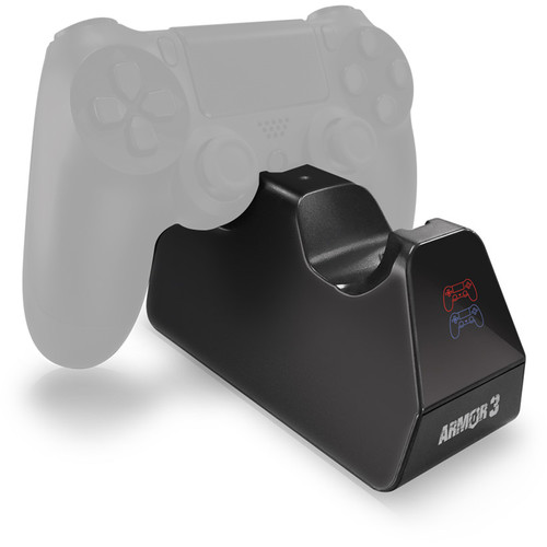 "HYPERKIN Armor 3 ""TwinVolt"" Charging Dock for 2 PS4 Controllers"