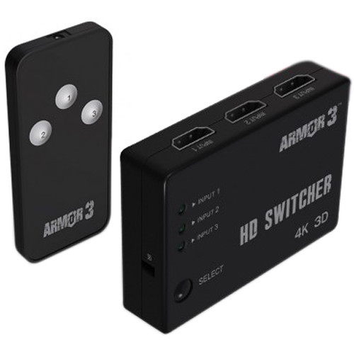HYPERKIN Armor3 ReadyHub 3-Port HD Switcher for Game Consoles and Devices
