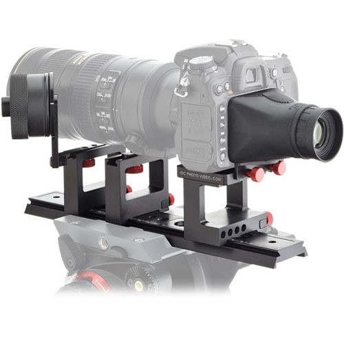 iDC Photo Video SYSTEM ONE FF/VF Kit for Nikon D7000 No Grip (1 Wheel, Lens Br)