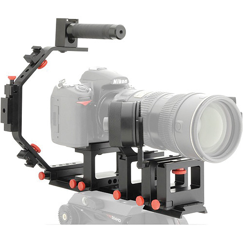 iDC Photo Video SYSTEM ONE Follow-Focus Master Kit for Nikon D7000 (No Grip)