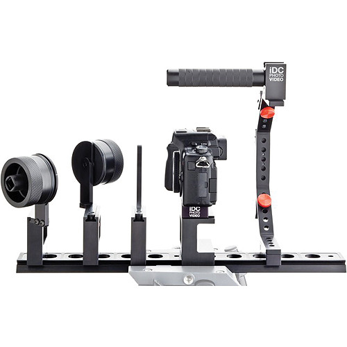 iDC Photo Video SYSTEM ONE Follow-Focus Master Kit for Panasonic GH2