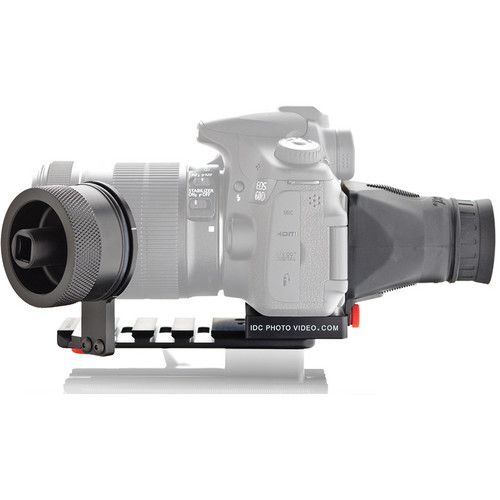 iDC Photo Video SYSTEM ZERO Standard Gearless Follow Focus with Viewfinder for Canon 60D