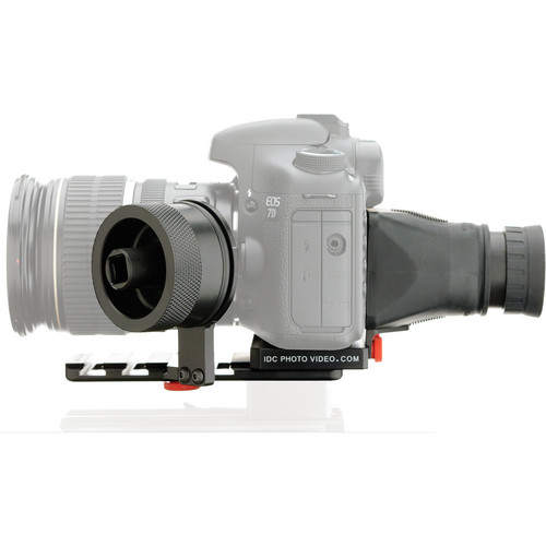 iDC Photo Video SYSTEM ZERO Standard Gearless Follow Focus with Viewfinder for Canon 7D