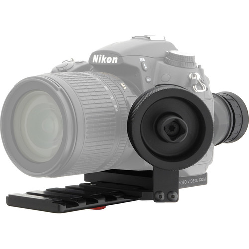 iDC Photo Video SYSTEM ZERO Standard Follow-Focus with Viewfinder (for Nikon D7000)
