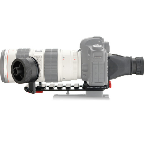 iDC Photo Video SYSTEM ZERO XL1 Follow-Focus with Viewfinder for Canon 5D MkII