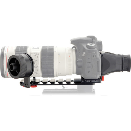 iDC Photo Video SYSTEM ZERO XL1 Follow-Focus with Viewfinder for Canon 60D