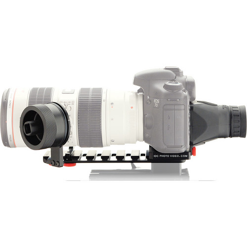 iDC Photo Video SYSTEM ZERO XL1 Follow-Focus with Viewfinder for Canon 7D