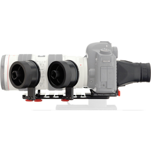 iDC Photo Video SYSTEM ZERO XL2 Follow Focus with Viewfinder for Canon 5D MkII