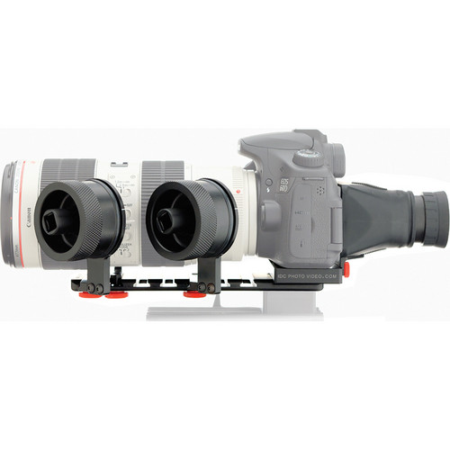 iDC Photo Video SYSTEM ZERO XL2 Follow Focus with Viewfinder for Canon 60D