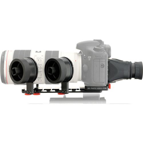 iDC Photo Video SYSTEM ZERO XL2 Follow Focus with Viewfinder for Canon 7D
