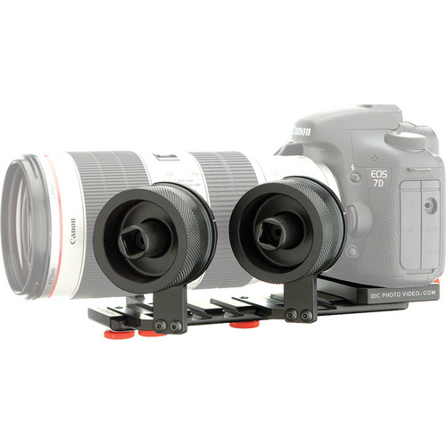 iDC Photo Video SYSTEM ZERO XL2 Follow Focus for Canon 7D