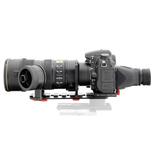 iDC Photo Video SYSTEM ZERO XL2 Follow-Focus with Viewfinder (for Nikon D7000)