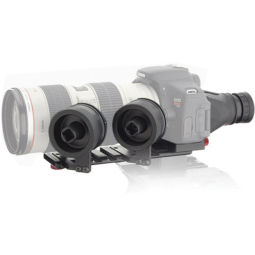 iDC Photo Video SYSTEM ZERO Follow-Focus XL2 Viewfinder/Camera Plate/Canon T3i/70-200mm