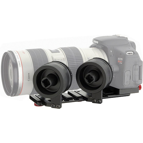 iDC Photo Video SYSTEM ZERO Follow-Focus XL2 W/ Camera Plate For Canon T3i & 70-200mm