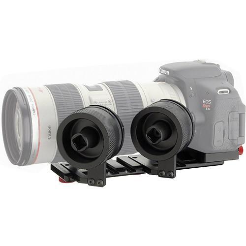 iDC Photo Video SYSTEM ZERO Follow-Focus XL2 W/ Camera Plate For Canon T3i & 70-200mm