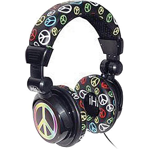 iHip IP-DJPEACE DJ-Style Stereo Headphones