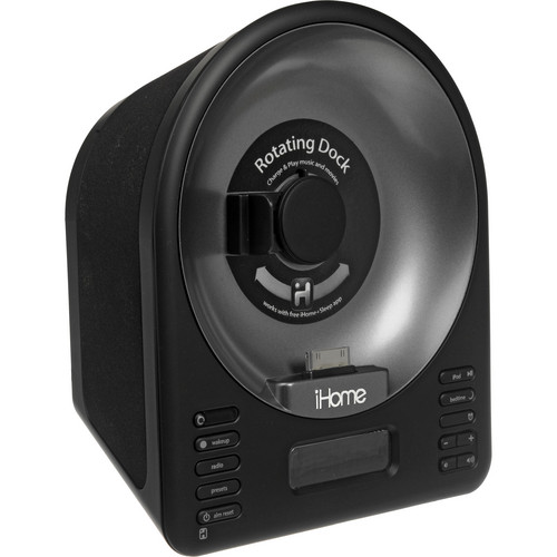 iHome iA63 App-Enhanced Stereo System with Rotating iPhone/iPod Dock