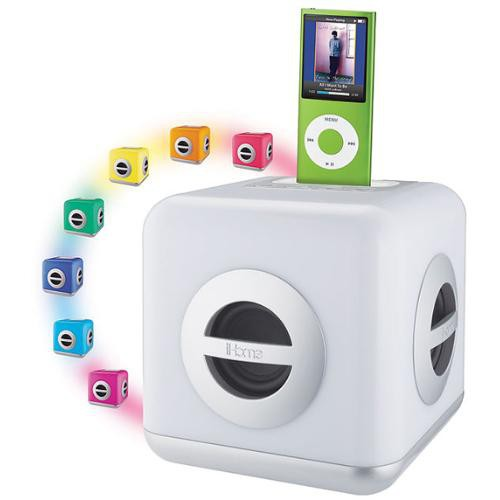 iHome iH15W LED Color Changing Stereo System
