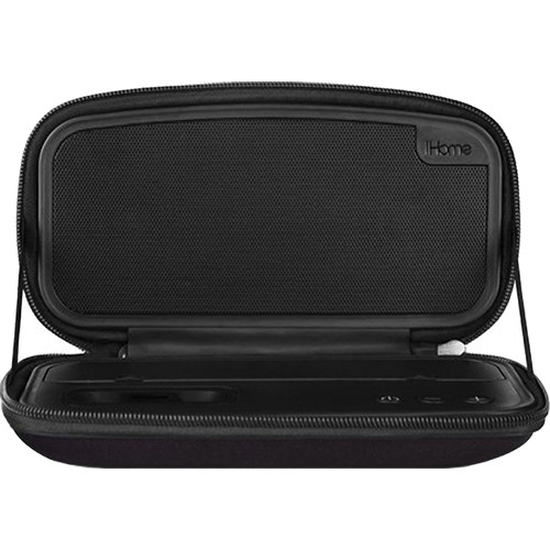 iHome iP37 Portable Speaker System for iPhone/iPod (Black)