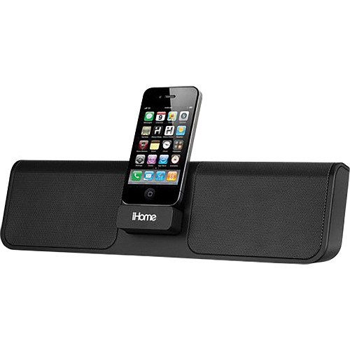 iHome iP46 Rechargeable Portable Stereo System for iPhone/iPod