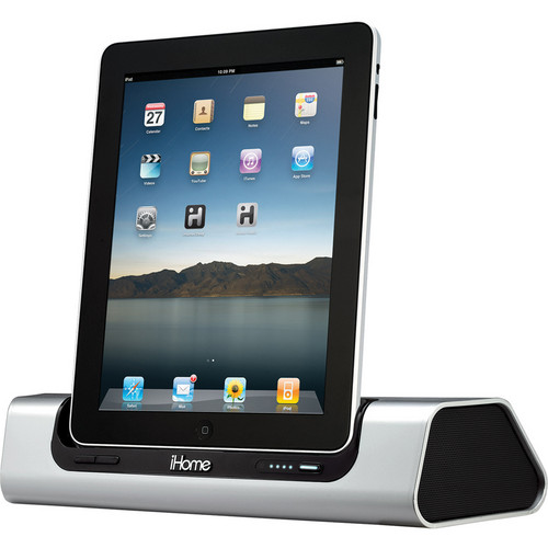 iHome iD9 Portable App-Friendly Rechargeable Speaker System for iPad/iPhone/iPod