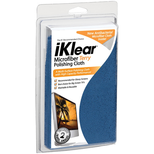 iKlear Micro-Fiber Polishing Cloth, Model iK-MKK