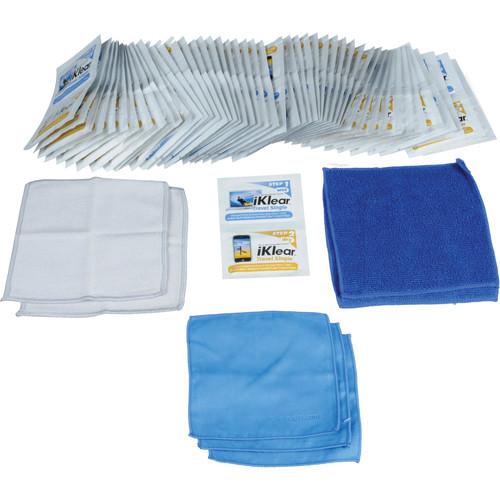 iKlear 1 Step Wet/Dry Singles, Model IK-SP50 - 50 Pack