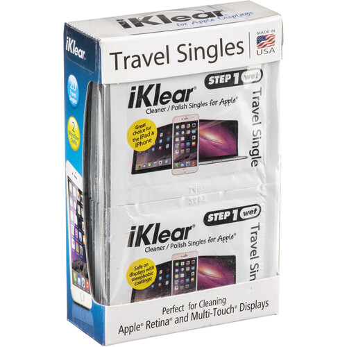 iKlear Travel Singles Kit, Model iK-TS20