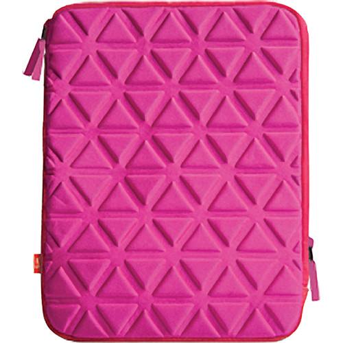 iLuv Foam-Padded Neoprene Sleeve for iPad 3rd Generation - Pink