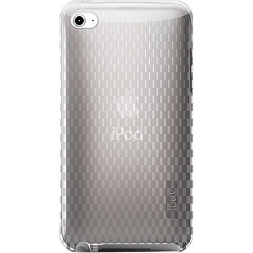 iLuv ICC615-CLR Flexi-Clear TPU Case for iPod touch 4th Generation Player (Clear)