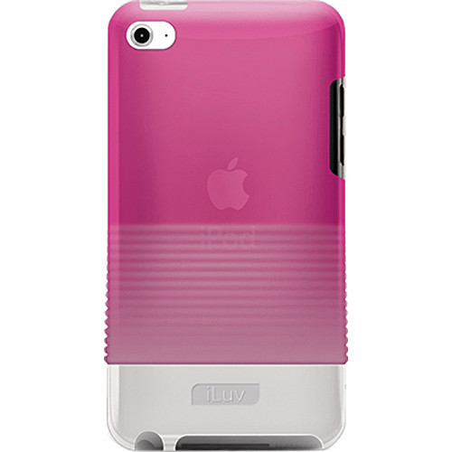 iLuv Tinted PC Rubberized Hard Case for iPod touch 4th Generation Player (Pink)