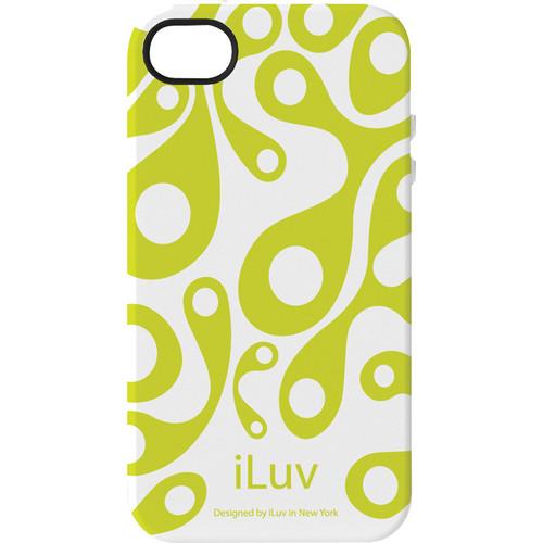 iLuv Aurora Glow-in-the-Dark Case for iPhone 4/4s (White)