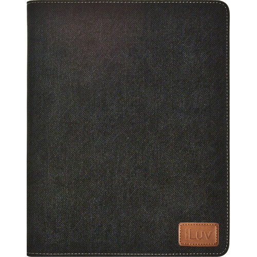 iLuv Great Jeans Portfolio Case for the new iPad (Black)