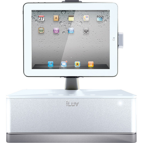 iLuv iMM517 The Workstation Pro (White)