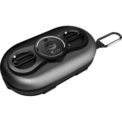 iLuv SmashBox Pro Portable Stereo Speaker Case for Smartphones (Black)