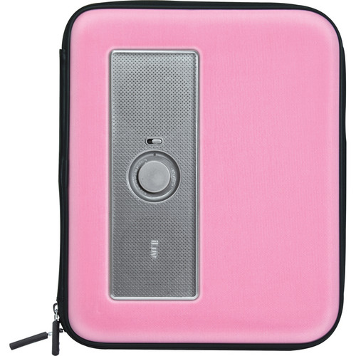 iLuv iSP210 MusicPac Portable Stereo Speaker Case for iPad (Pink)