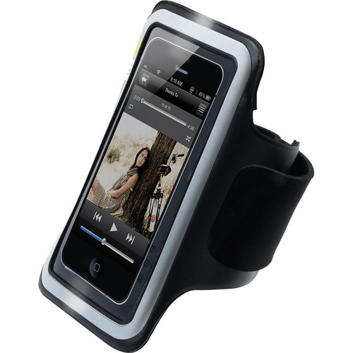 iLuv Sports Armband for iPhone 5/5s/SE (Black)