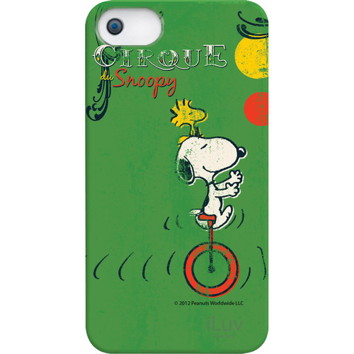 iLuv Snoopy Vintage Series Hardshell Case for iPhone 5/5s/SE (Green)