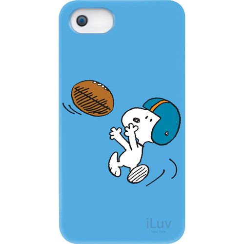 iLuv Snoopy Sports Series Hardshell Case for iPhone 5 (Football Design)