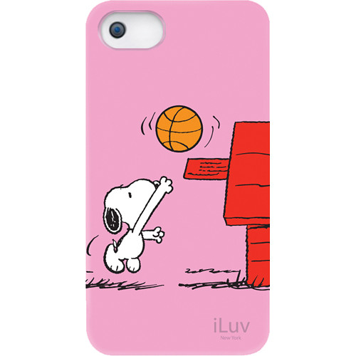 iLuv Snoopy Sports Series Hardshell Case for iPhone 5 (Basketball Design)