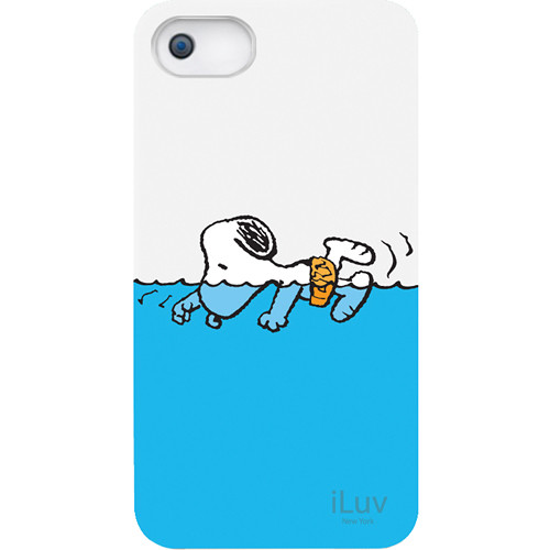 iLuv Snoopy Sports Series Hardshell Case for iPhone 5 (Swimming Design)