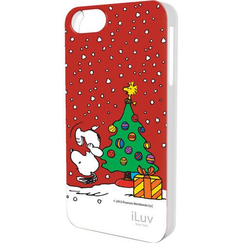 iLuv Snoopy Holiday Series Hardshell Case for iPhone 5 (Christmas Design)