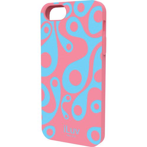iLuv Aurora Glow-in-the-Dark Case for iPhone 5/5s/SE (Pink)