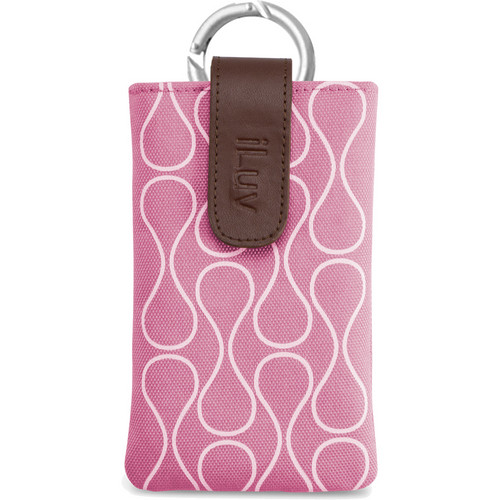 iLuv Parasol Smart Coverup for iPhone 5 (Pink)