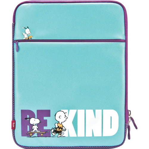 iLuv Peanuts Folio Sleeve for iPad 1st, 2nd, 3rd, and 4th Generation (Snoopy and Charlie Brown, Blue)