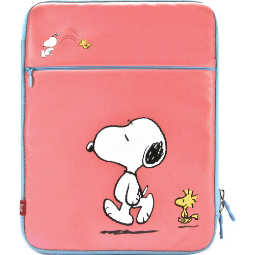iLuv Peanuts Folio Sleeve for iPad 1st, 2nd, 3rd, and 4th Generation (Snoopy, Pink)