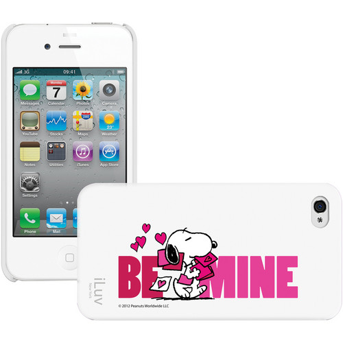 iLuv Snoopy Behavior Series - Hardshell Case for iPhone 4S / 4 (White)