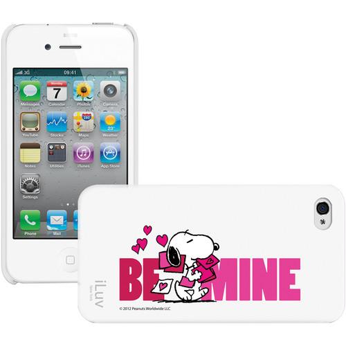 iLuv Snoopy Behavior Series - Hardshell Case for iPhone 4S / 4 (White)