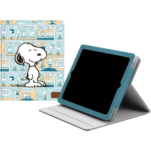 iLuv Snoopy Folio Case for new iPad (Blue)